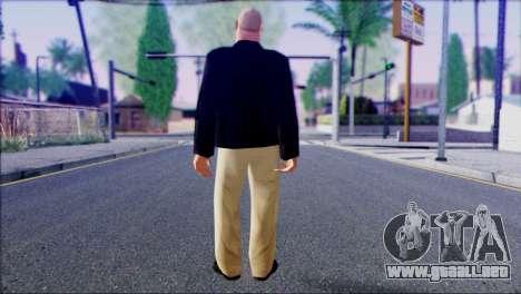 Russian Mafia Skin 1 para GTA San Andreas segunda pantalla