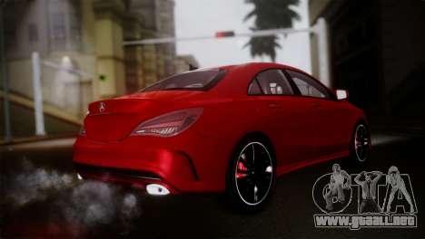 Mercedes-Benz CLA 250 2014 para GTA San Andreas left