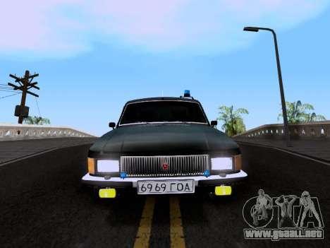 GAZ Volga 3102 para GTA San Andreas vista posterior izquierda