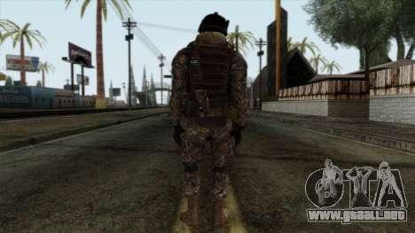 Modern Warfare 2 Skin 7 para GTA San Andreas segunda pantalla