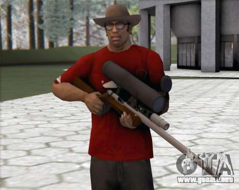 TF2 Sniper Rifle para GTA San Andreas