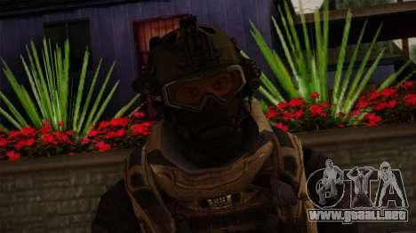 Modern Warfare 2 Skin 3 para GTA San Andreas tercera pantalla