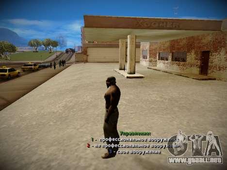 Sistema de robos v4.0 para GTA San Andreas sucesivamente de pantalla
