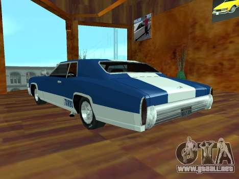 Buccaneer Turbo para GTA San Andreas left
