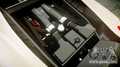 Ferrari F430 Scuderia 2007 plate F430 para GTA 4 vista lateral