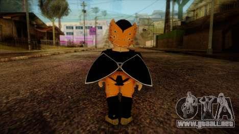 Cell Junior Skin para GTA San Andreas segunda pantalla