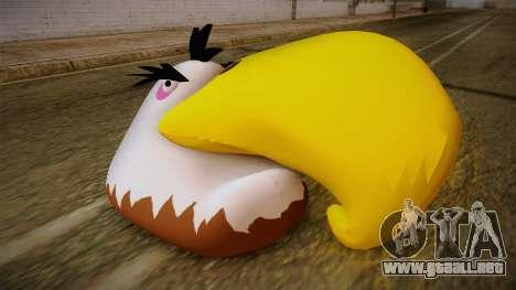 Might Eagle Bird from Angry Birds para GTA San Andreas tercera pantalla