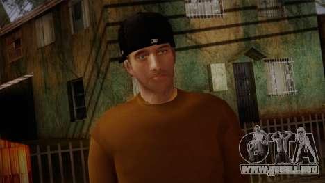Gedimas Omyst Skin HD para GTA San Andreas tercera pantalla