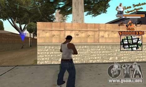 C-HUD LSW para GTA San Andreas tercera pantalla