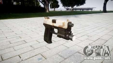 Día de la HK USP 45 sahara para GTA 4