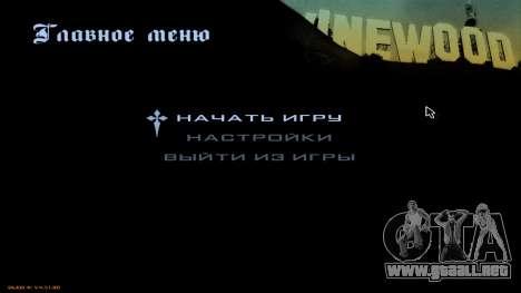 Full HD Interface para GTA San Andreas segunda pantalla