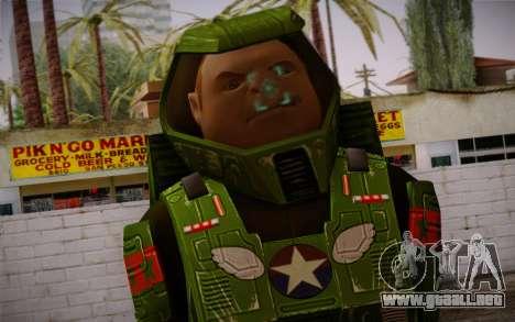 Space Ranger from GTA 5 v1 para GTA San Andreas tercera pantalla
