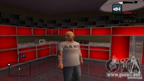 C-HUD Brendi para GTA San Andreas tercera pantalla