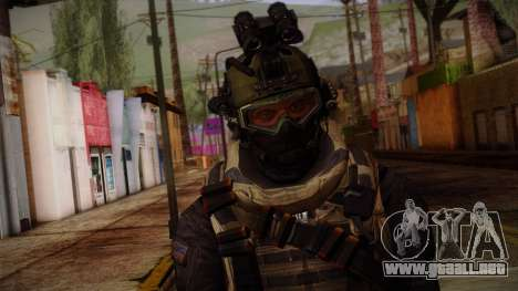 Modern Warfare 2 Skin 1 para GTA San Andreas tercera pantalla