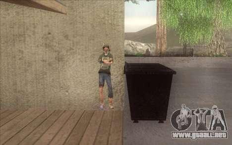 El renacimiento de la aldea Dillimore para GTA San Andreas octavo de pantalla