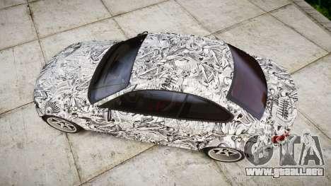BMW 1M 2011 Sharpie para GTA 4 visión correcta