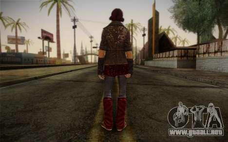 Murdered Soul Suspect Skin 1 para GTA San Andreas segunda pantalla