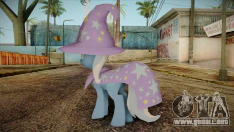 Trixie from My Little Pony para GTA San Andreas segunda pantalla