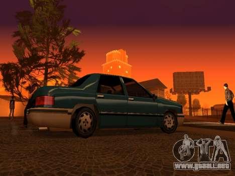 Beta Elegant para la vista superior GTA San Andreas
