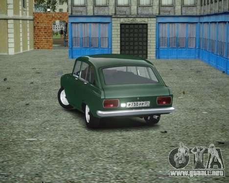 IZH 2125 Combi para GTA 4 Vista posterior izquierda