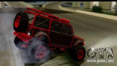 GTA 5 Mesa MerryWeather para GTA San Andreas left