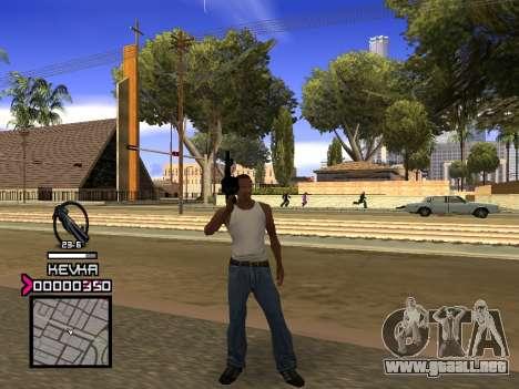 C-HUD by Kevka para GTA San Andreas