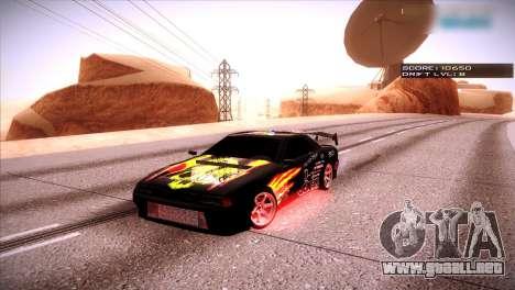 Just ENB para GTA San Andreas sucesivamente de pantalla