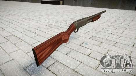 Antidisturbios de la escopeta Ithaca M37 para GTA 4 segundos de pantalla