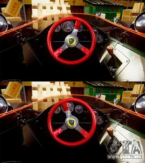 Lotus Type 49 1967 [RIV] PJ15-16 para GTA 4 vista hacia atrás
