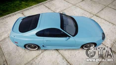 Toyota Supra 1998 para GTA 4 visión correcta