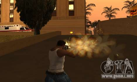 Yellow Effects para GTA San Andreas