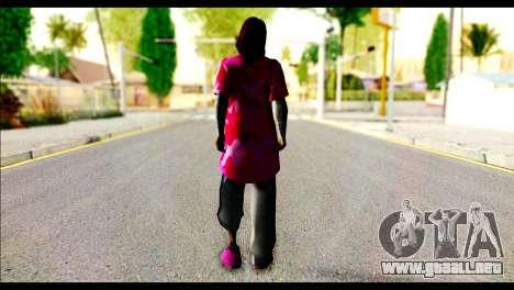 Ginos Ped 41 para GTA San Andreas segunda pantalla