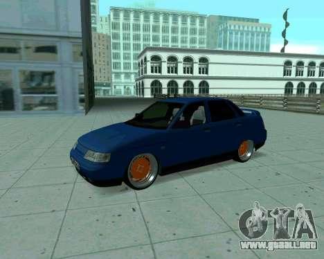 De los FLOREROS 2110 Taxi para GTA San Andreas left