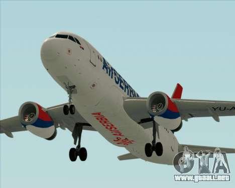 Airbus A319-100 Air Serbia para el motor de GTA San Andreas