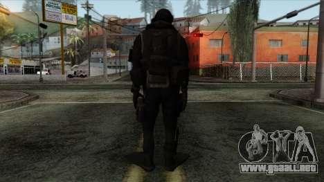 Modern Warfare 2 Skin 9 para GTA San Andreas segunda pantalla