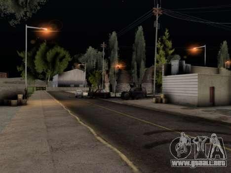 ENB Hans Realistic 1.0 para GTA San Andreas tercera pantalla