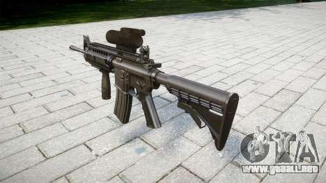 Automático M4 carabina Táctica Señores para GTA 4 segundos de pantalla