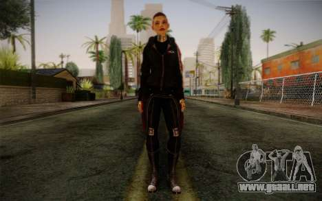 Jack Hood from Mass Effect 3 para GTA San Andreas