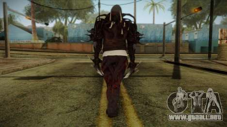 Alex Boss from Prototype 2 para GTA San Andreas segunda pantalla