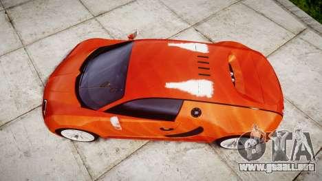 Bugatti Veyron 16.4 SS [EPM] Halloween Special para GTA 4 visión correcta