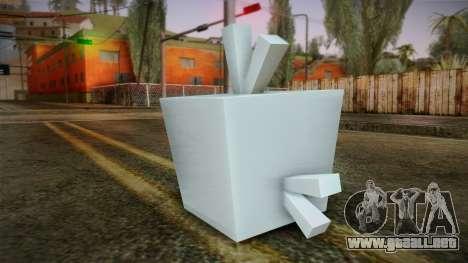 Ice Bird from Angry Birds para GTA San Andreas segunda pantalla