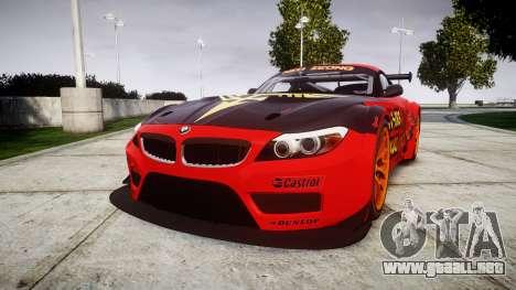 BMW Z4 GT3 2010 NEO ZEON para GTA 4