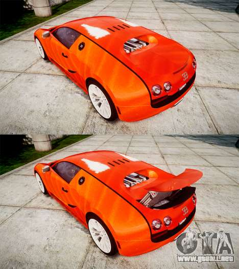 Bugatti Veyron 16.4 SS [EPM] Halloween Special para GTA 4 vista lateral