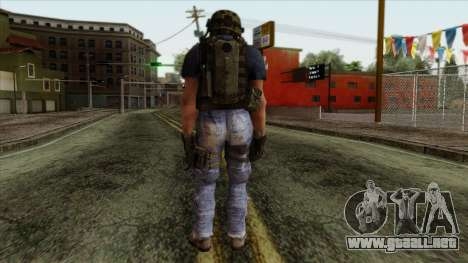 Modern Warfare 2 Skin 11 para GTA San Andreas segunda pantalla