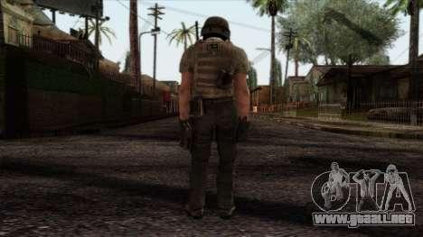 Modern Warfare 2 Skin 19 para GTA San Andreas segunda pantalla