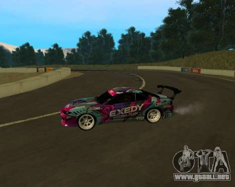 Nissan Silvia S15 EXEDY para GTA San Andreas left