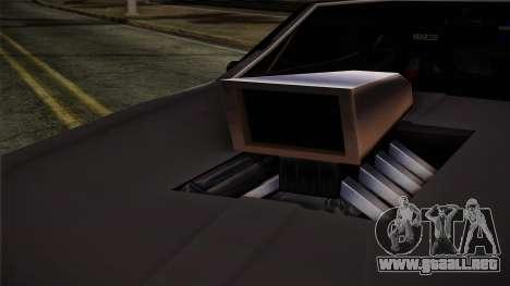 Clover Mejorado para GTA San Andreas vista posterior izquierda