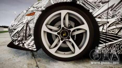 Lamborghini Gallardo LP570-4 Superleggera 2011 S para GTA 4 vista hacia atrás