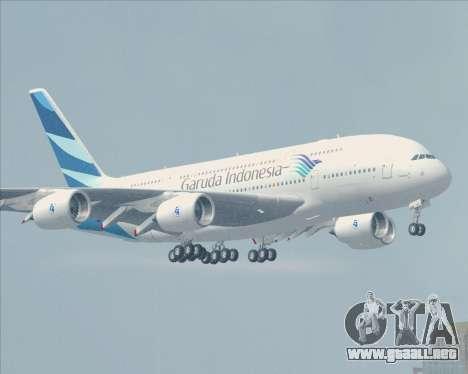 Airbus A380-800 Garuda Indonesia para GTA San Andreas