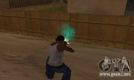 Turquesa efectos para GTA San Andreas